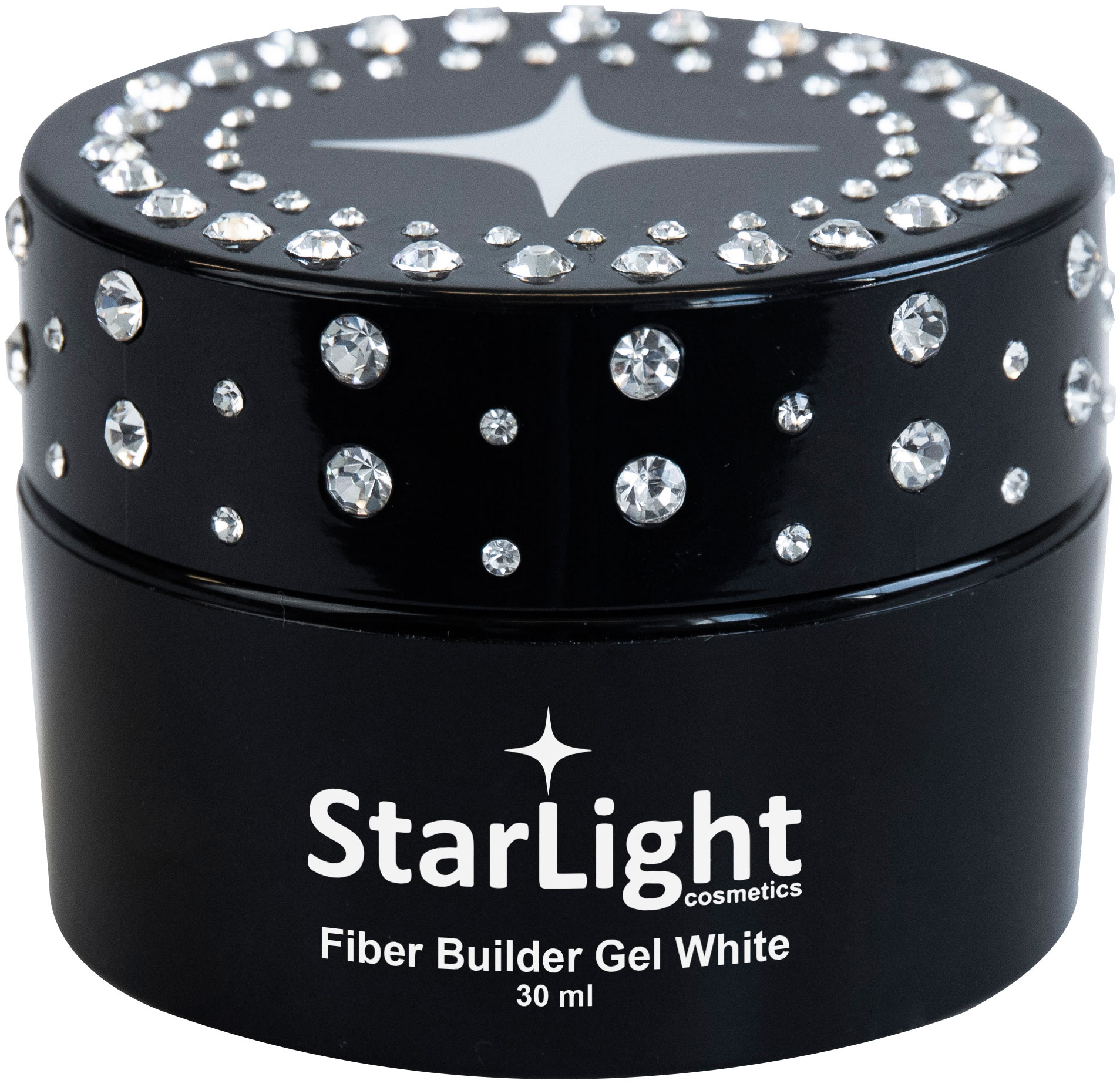 Naglar Fiber Builder Gel White - 30 ml
