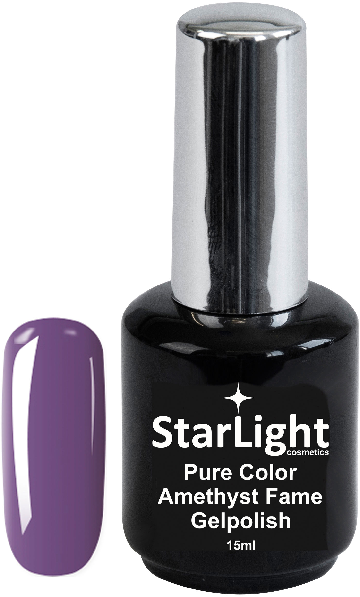 Naglar Gelpolish Pure Color Amethyst Fame - 15 ml