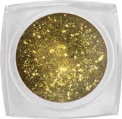 Naglar Glitter Gel  Yellow Gold - 7,5 gram