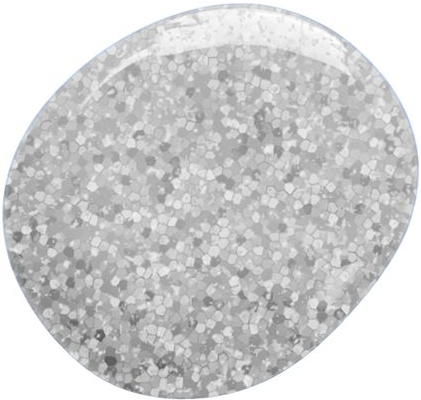 Glitter Gel  Silver - 7 ml
