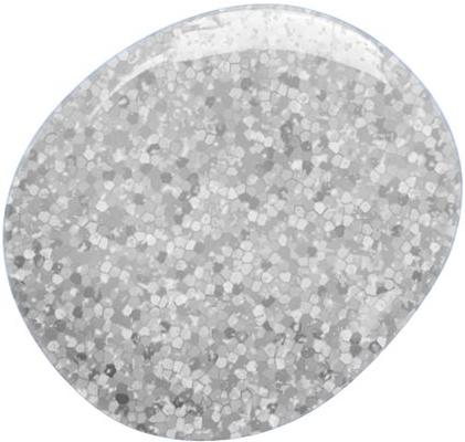 Naglar Glitter Gel  Silver - 7 ml