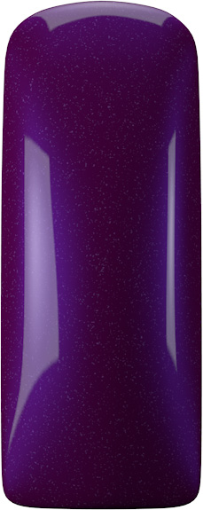 Naglar One Coat Color Gel (Nailart Gel) Deep Purple - 7 ml