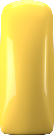 One Coat Color Gel (Nailart Gel) Yellow - 7 ml