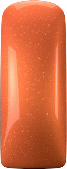 One Coat Color Gel (Nailart Gel) Metallic Papaya - 7 ml