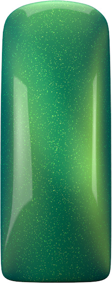 One Coat Color Gel (Nailart Gel) Glittery Green - 7 ml