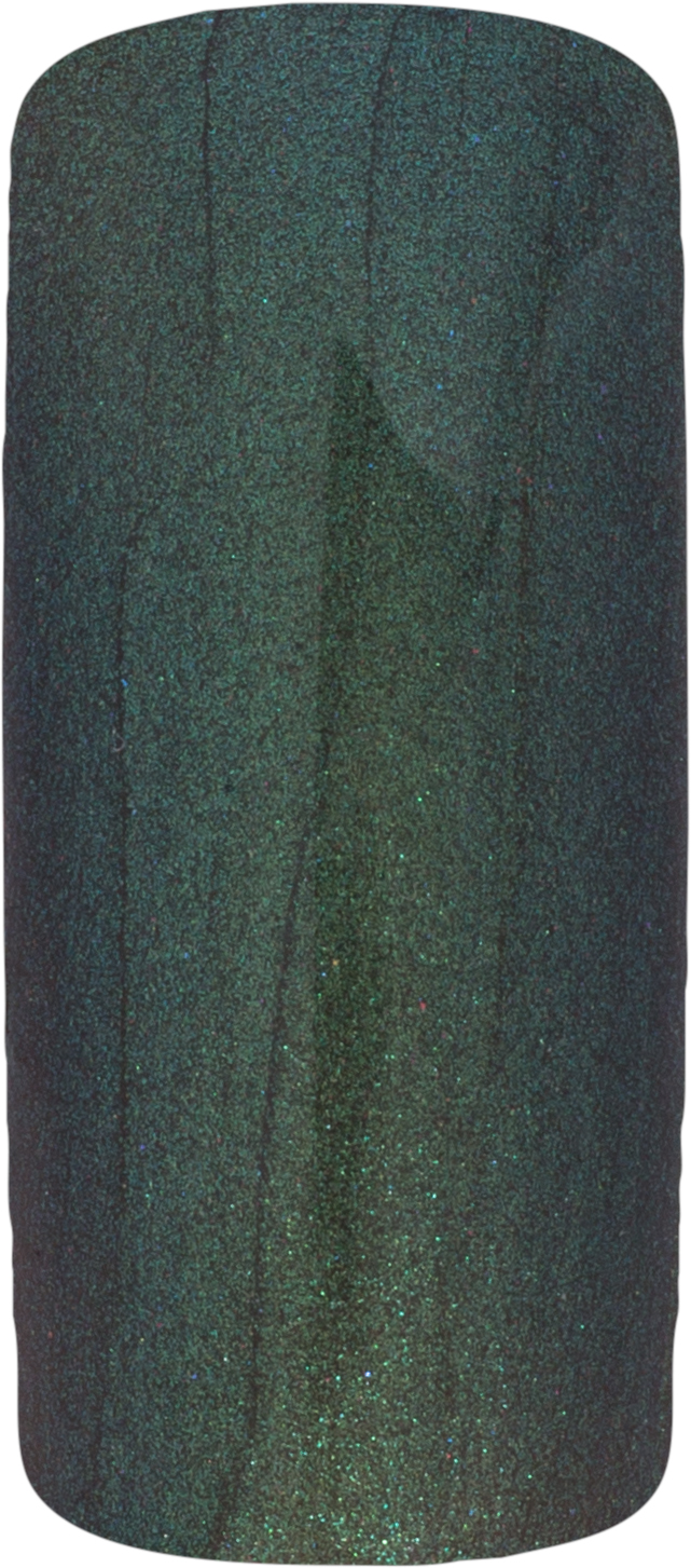 Naglar One Coat Color Gel (Nailart Gel) Metalic Dark Green - 7 ml
