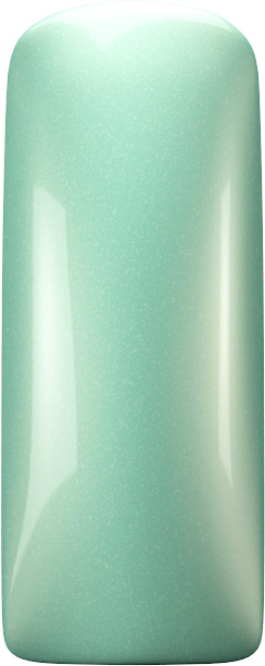 One Coat Color Gel (Nailart Gel) Pearly Mint - 7 ml