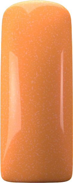 Naglar One Coat Color Gel (Nailart Gel) Orange Shimmer - 7 ml