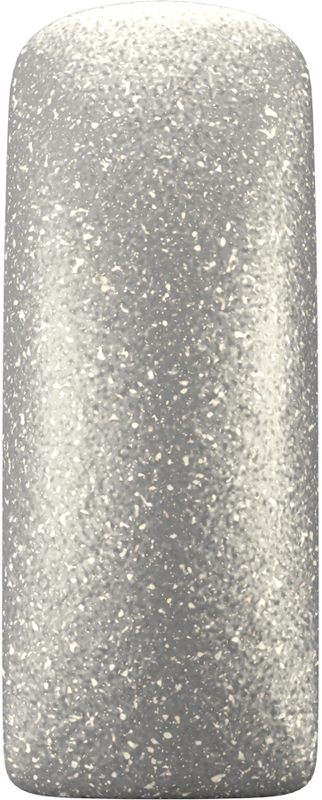Naglar One Coat Color Gel True Silver - 7 ml