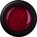 Naglar Glitterpulver Red - 15 gram