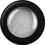 Naglar Glitterpulver Silver White - 15 gram