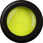 Naglar Glitterpulver Hardrock Yellow - 15 gram