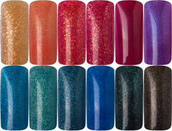 Naglar Pro-Formula Year of the Dragon Color Collection - 3 gram x 12 st