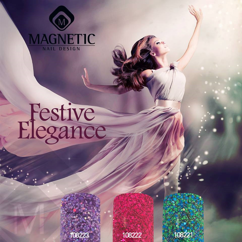 Naglar Pro-Formula Festive Elegance Color Collection - 15 gram x 3 st