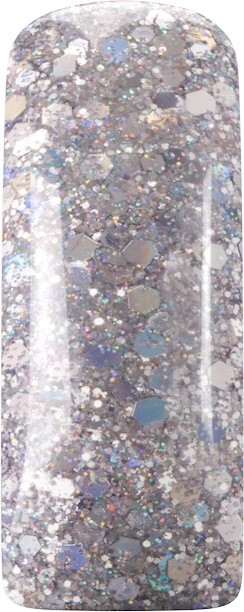 Naglar Pro-Formula Silver Cocktail Glitter - 15 gram