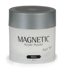 Naglar Akryl Fast Set White - 50 gram