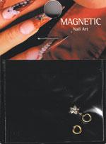 Naglar Dangle Gold Pentagram Zircon