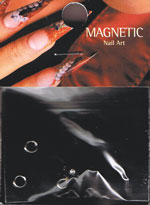 Naglar Dangle Cateye Zircon Square Black