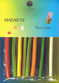 Naglar Nail Art Fruit Canes - 8 st