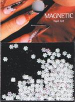 Naglar Leather Flower - White