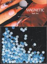 Naglar Leather Flower - Blue