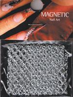 Naglar Silk Net - Silver