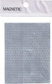 Naglar Självhäftande mönstrat Aluminium Folie - 042