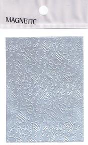 Naglar Självhäftande mönstrat Aluminium Folie - 043