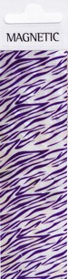 Naglar Shell Sheet - Zebra Purple