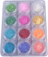 Naglar Nail Art Lines - 12 färger i en Bling Bling Box
