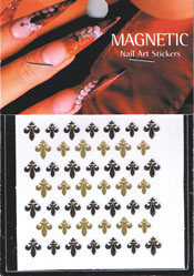 Naglar Nail Art Sticker - 087