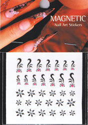 Naglar Nail Art Sticker - 088