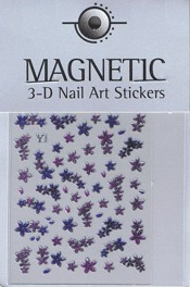 Naglar 3D Shiny Nailartsticker - 156