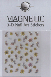 Naglar 3D Shiny Nailartsticker - 157