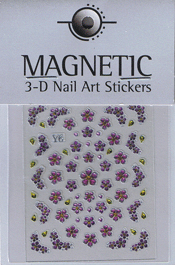 Naglar 3D Shiny Nailartsticker - 159