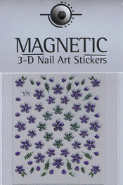 Naglar 3D Shiny Nailartsticker - 160
