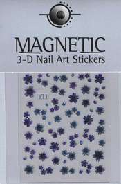 Naglar 3D Shiny Nailartsticker - 161