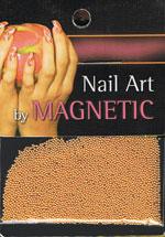 Naglar Glass Beads - Gold
