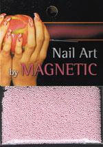 Naglar Glass Beads - Light Pink
