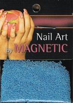 Naglar Glass Beads - Light Blue