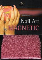 Naglar Glass Beads - Fuchsia