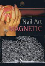 Naglar Glass Beads - Dark Silver