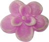 Naglar Fimo Flowers Pink - 25 st