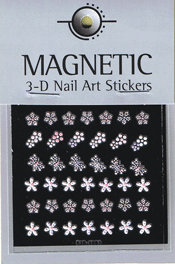 Naglar 3D Pearl Nail Art Sticker - 43