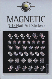 Naglar 3D Pearl Nail Art Sticker - 45