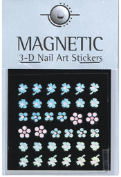 Naglar Holographic 3D Nail Art Sticker - 46