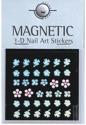 Naglar Holographic 3D Nail Art Sticker - 46