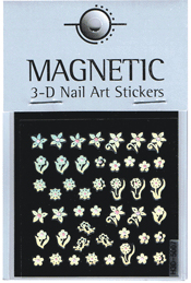 Naglar Holographic 3D Nail Art Sticker - 48