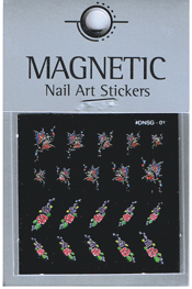 Naglar Delicate Flower Sticker - 11
