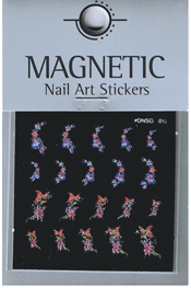 Naglar Delicate Flower Sticker - 12